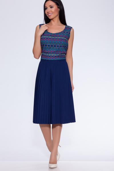 юбка (Цвет: темно синий) 807-628