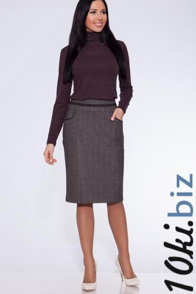 юбка (Цвет: коричневый) 799-700 Женские юбки на рынке Славянский мир (Мельница)