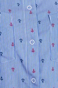 Фото Платья и сарафаны рубашка (Цвет: синий) 698-754