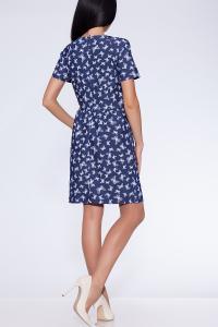 Фото Платья и сарафаны платье (Цвет: набивной джинс) 682-638