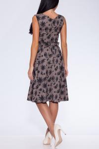 Фото Платья и сарафаны платье (Цвет: набивной лен) 684-648