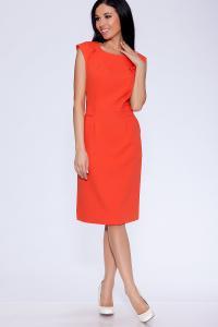 Фото Платья и сарафаны платье (Цвет: оранжевый) 673