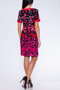 Фото Платья и сарафаны платье-туника (Цвет: набивной штапель) 671-531