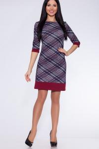 Фото Платья и сарафаны платье (Цвет: набивной трикотаж) 696-733