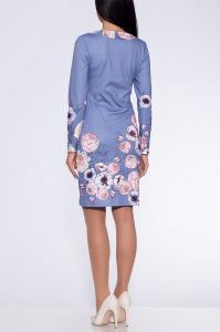 Фото Платья и сарафаны платье (Цвет: набивной трикотаж) 692-710