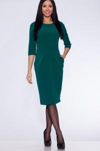 Фото Платья и сарафаны платье (Цвет: изумрудный) 691-607
