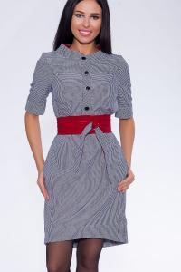 Фото Платья и сарафаны платье (Цвет: синий) 690-682