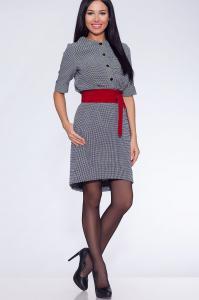 Фото Платья и сарафаны платье (Цвет: серый) 690-681