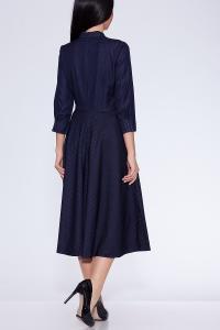 Фото Платья и сарафаны платье (Цвет: темно синий) 373-473