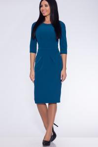 Фото Платья и сарафаны платье (Цвет: бирюзовый) 691-616