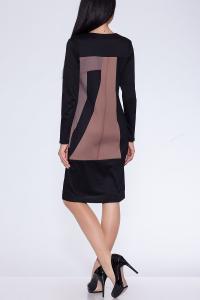 Фото Платья и сарафаны платье (Цвет: набивной трикотаж) 612-376