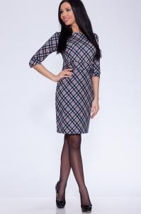 Фото Платья и сарафаны платье (Цвет: набивной трикотаж) 632-596
