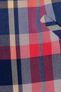 Фото Платья и сарафаны платье (Цвет: цветная клетка) 667-527
