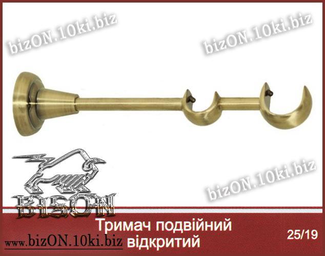 Антико   Кронштейн Двойной Открытый    для труб   d= 25мм/19мм