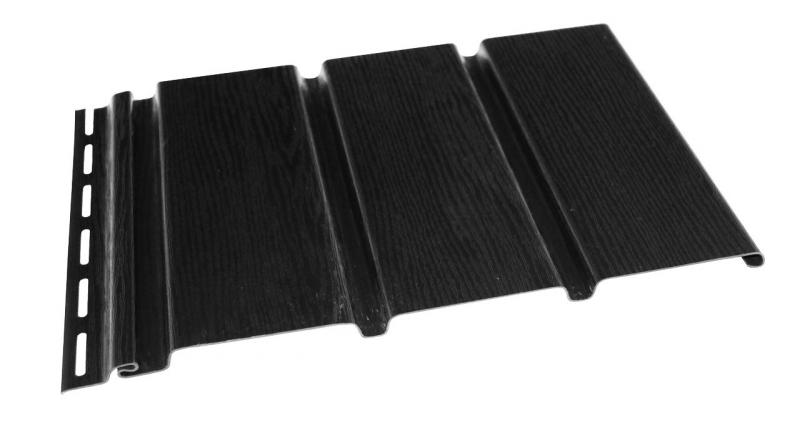 Софіт Budmat панель б/перфорації  колір чорний 3 м