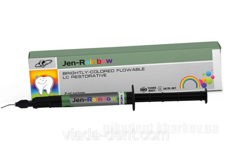 Фото Для стоматологических клиник, Материалы, Фотополимеры Jen-Rainbow (Джен-Раинбов) цветной пломбировочный композит