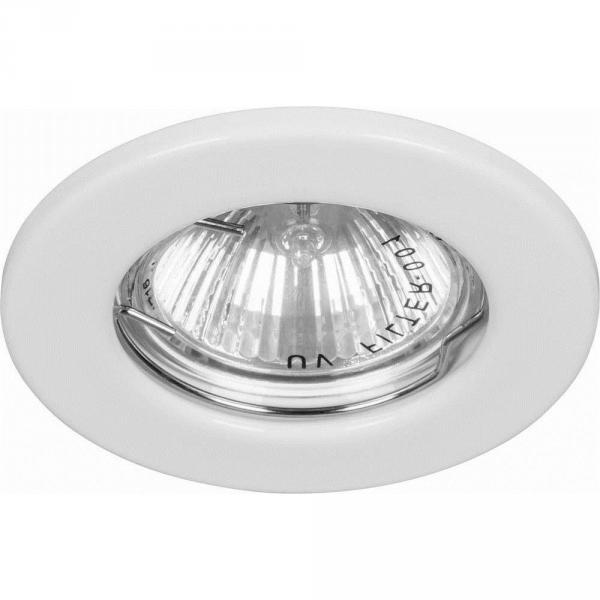 Светильник встраиваемый DL10 белый (арт.0-56)