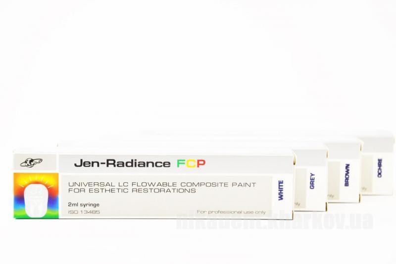 Фото Для стоматологических клиник, Материалы, Композиты химические Jen-Radiance FCP (Джен Радианс ФСП) композитные краски