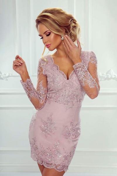 Платье персея рукав вырез