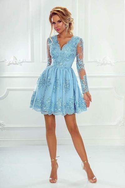 Платье персея пышная