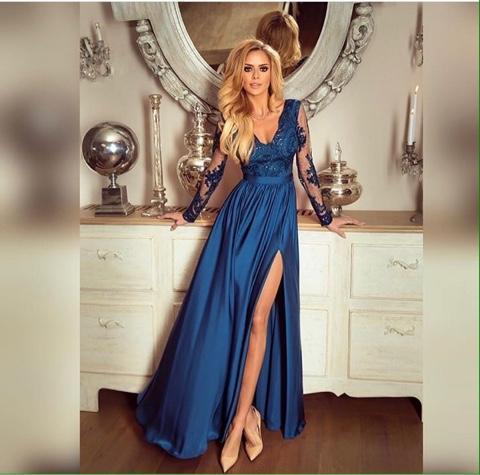 Платье персея длинная