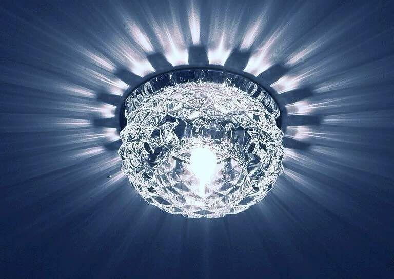 Светильник встраиваемый Y066 прозрачный (арт.2-20)