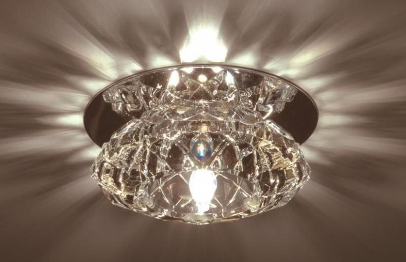 Светильник встраиваемый IL.0017.6803 хрусталь прозрачный (арт.3-25)