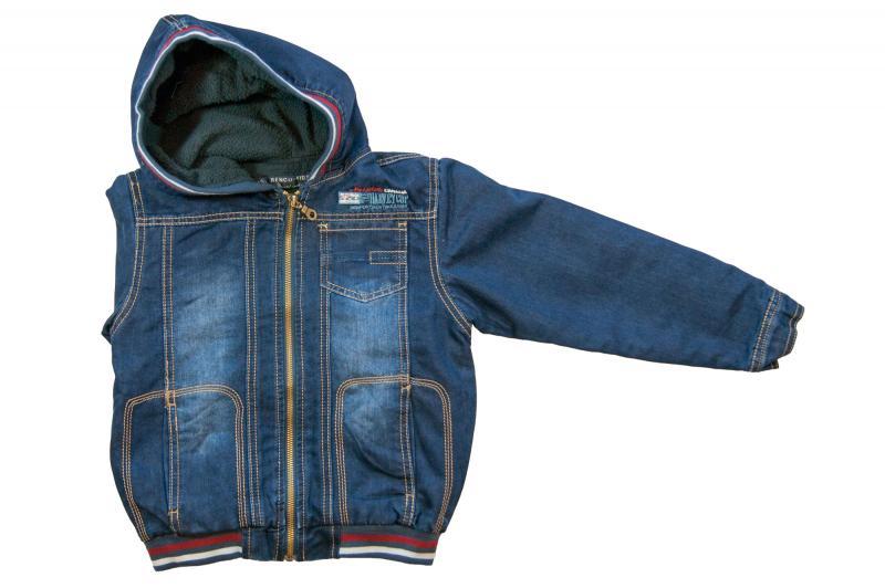 Куртка для мальчиков на флисе для мальчиков 5004В