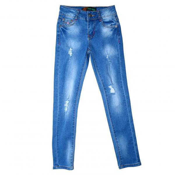 джинсы для девочек для девочек 588#