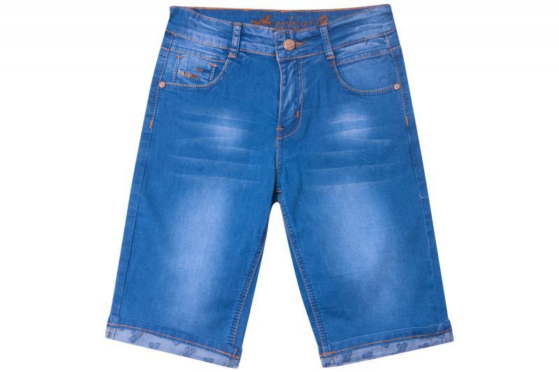Джинсовый шорты для мальчиков для мальчиков 80445 оптом
