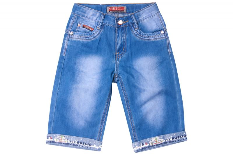 Джинсовый шорты для мальчиков для мальчиков B010S-B оптом