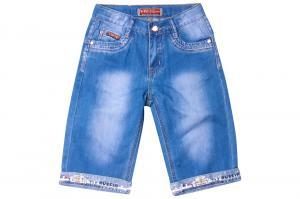 Фото  Джинсовый шорты для мальчиков для мальчиков B010S-B оптом