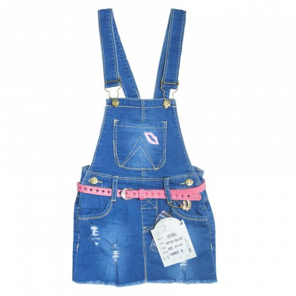джинсовый сарафан для девочек DQA-1287
