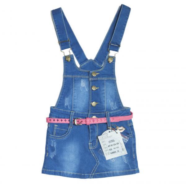 джинсовый сарафан  для девочек DQA-1288