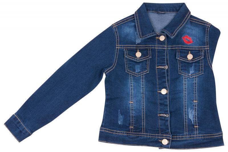 Джинсовая куртка для девочек для девочек JKA-1109