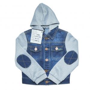 Фото Куртки джинсовые  оптом джинсовые пиджаки для мальчиков для мальчиков JKB-250