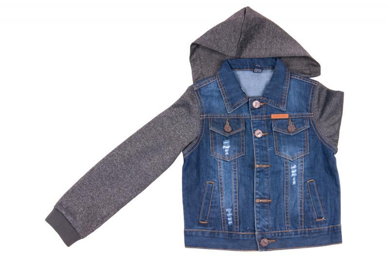 Джинсовый пиджак для мальчиков для мальчиков JKB-251