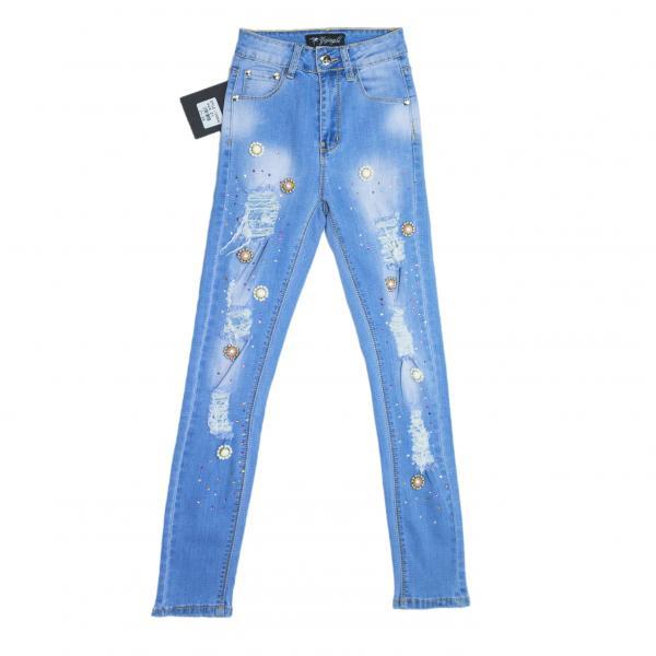 джинсы для девочек для девочек LY3335KK