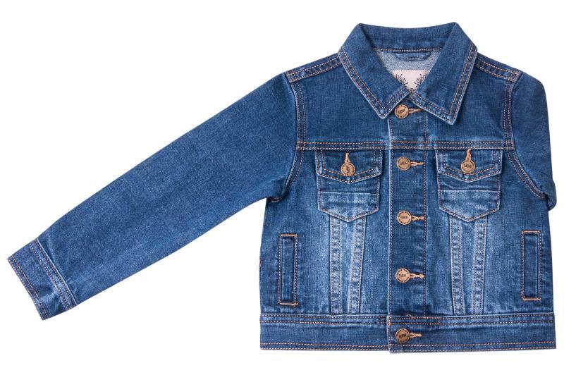 Джинсовый пиджак для мальчиков для мальчиков Q6601