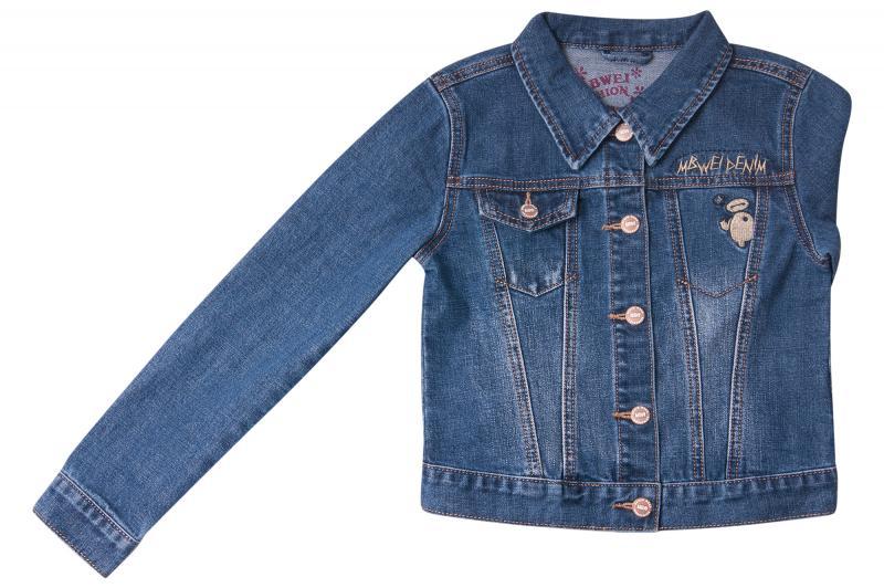 Джинсовый пиджак для девочек для девочек Q6606