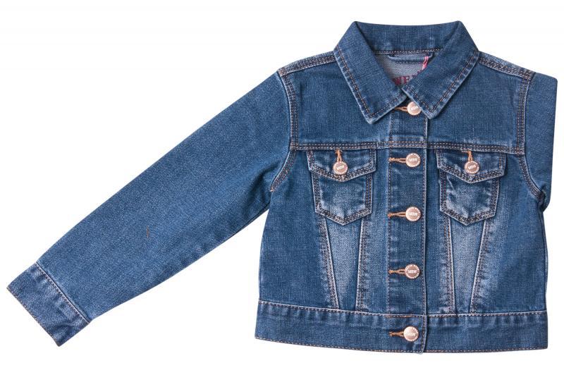 Джинсовый пиджак для девочек для девочек Q6612