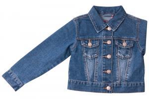 Фото Куртки джинсовые  оптом Джинсовый пиджак для девочек для девочек Q6612