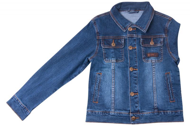 Джинсовый пиджак для мальчиков для мальчиков QW618