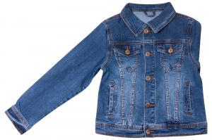 Фото Куртки джинсовые  оптом Джинсовый пиджак для мальчиков для мальчиков QW620