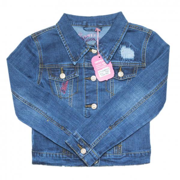 джинсовые пиджаки для девочек для девочек QW6625