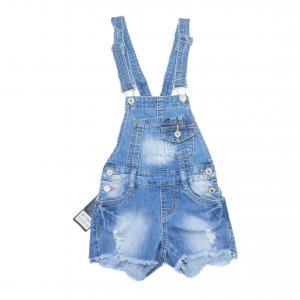 Фото Детские и подростковые комбинезоны джинсовый комбенизон для девочек для девочек T101#
