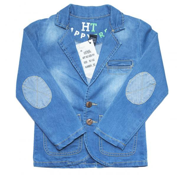 джинсовые пиджаки для мальчиков для мальчиков XZB-591