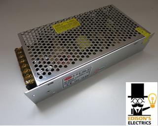 Блок питания S-150-12 (12V, 150W, 12.5A, IP20) (арт.9-37)