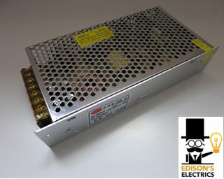 Блок питания S-200-12 (12V, 200W, 16,66A, IP20) (арт.11-80)