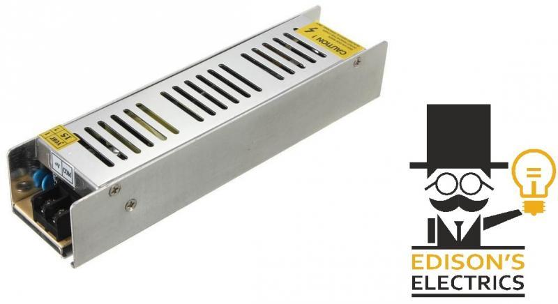 Компактный Блок питания mini S-150-12 (12V, 150W, 12.5A, IP20) (арт.10-90)